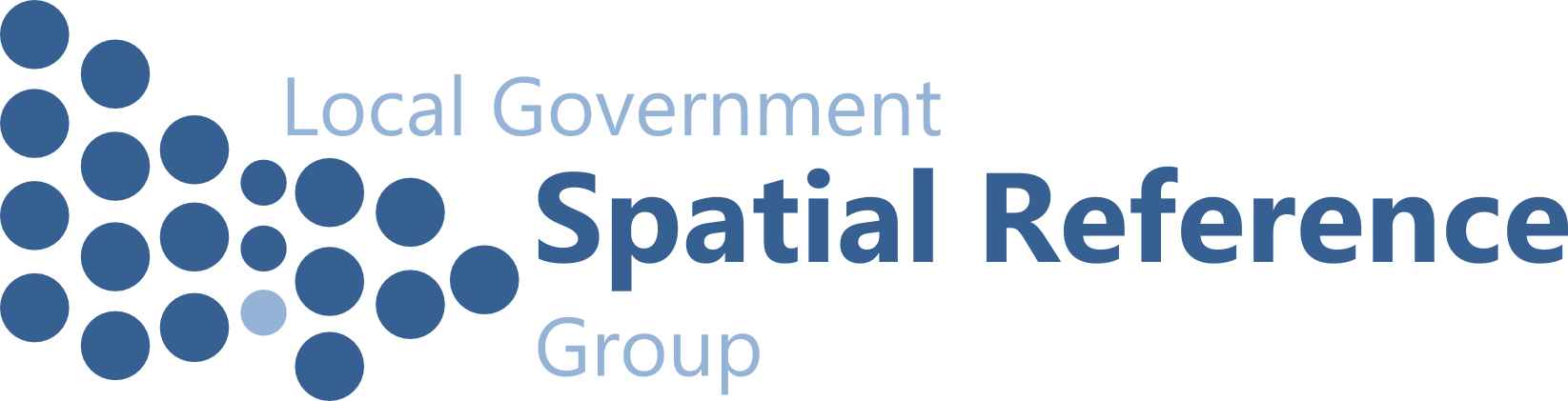 Local Government Spatial Reference Group logo